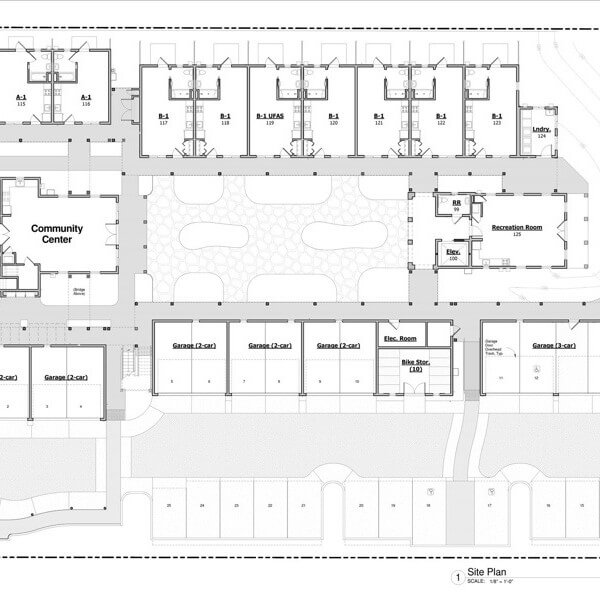 Bradley Studios site map