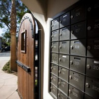 El Carrillo apartments mailboxes