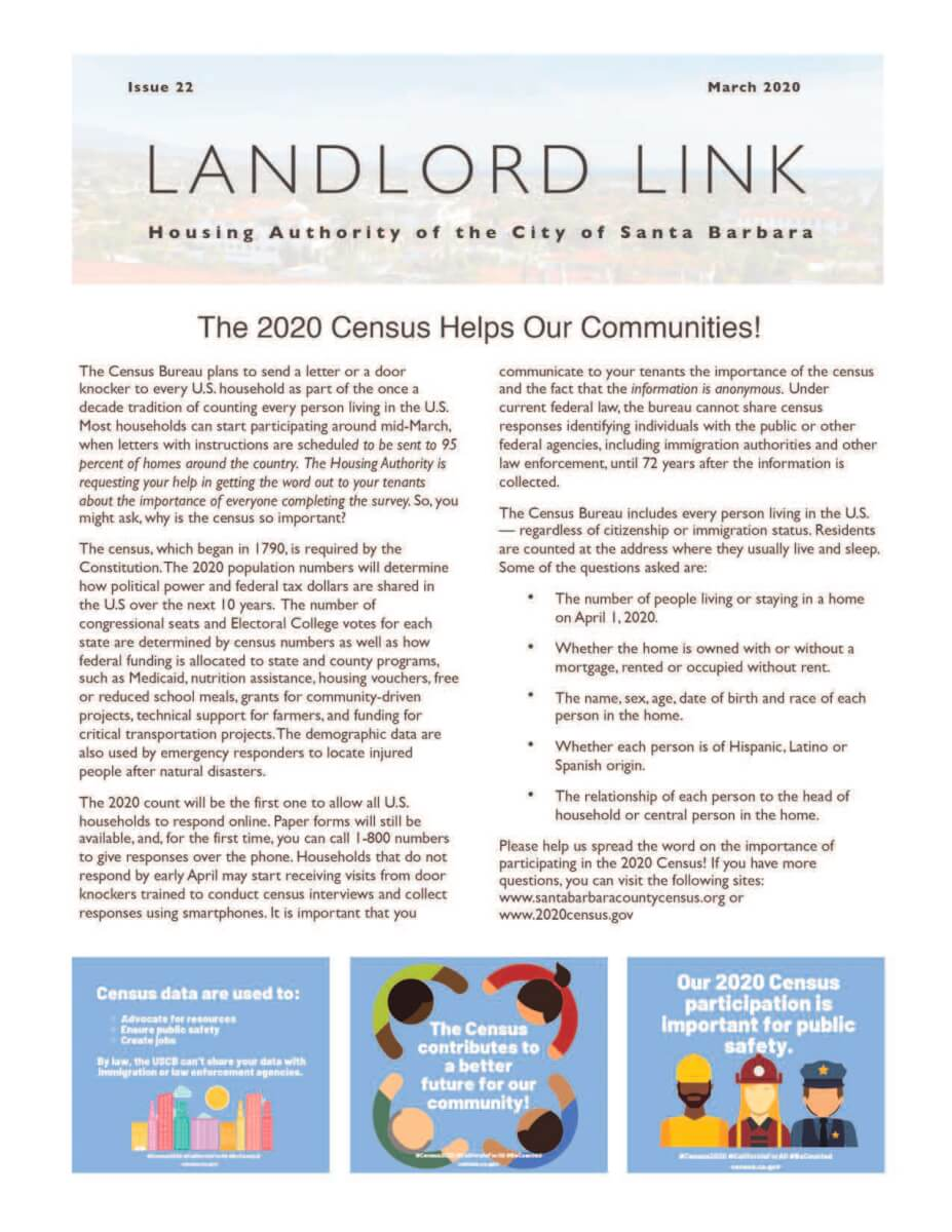 Landlord Link - March 2020 Edition
